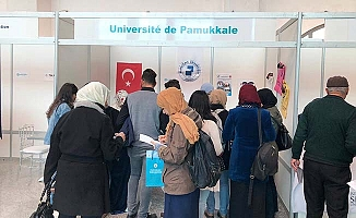 PAÜ Tunus'ta büyük ilgi gördü