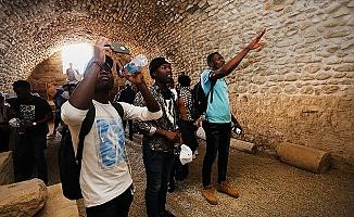 PAÜ'lü Öğrenciler Tripolis Antik Kentini gezdi
