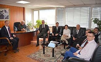 TÜRMOB Genel Başkan Yardımcısından DSO'ya ziyaret