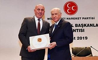 Birtürk'ten Denizli teşkilatına teşekkür