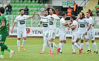 Giresun'da Mehmet Akyüz şov: 0 - 3