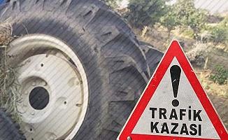 Çal'da traktör devrildi; 4 yaşındaki çocuk yaşamını yitirdi