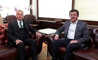 Zeybekci'den Başkan Zolan'a ziyaret