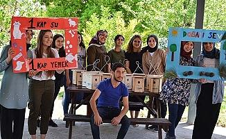 Bekilli MYO öğrencilerinden anlamlı proje