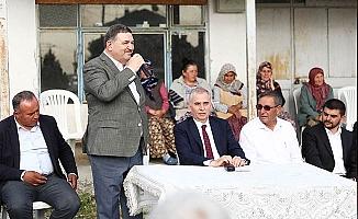"""Devecioğlu """"Büyükşehir ile hizmet destanları yazmaya devam edeceğiz"""""""