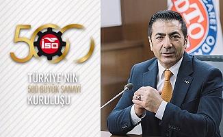 DTO Başkanı Erdoğan başarılı firmaları kutladı