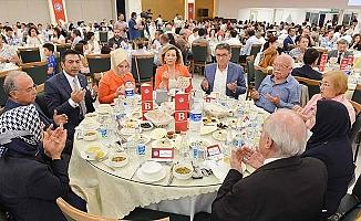 """Erdoğan; """"Biz büyük bir aileyiz"""""""