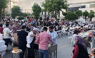Genç MÜSİAD bu yıl ilk iftar yemeğini Dokuzkavaklar'da verdi