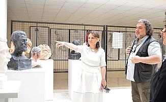 PAÜ'de 19 Mayıs kutlamaları Karma Heykel Sergisi ile başladı
