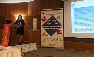 PAÜ Hastanesi, Uluslararası Sağlıkta Kalite Akreditasyon ve Hasta Güvenliği Kongresine katıldı