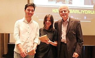 PAÜ'lü öğrenci tasarım yarışmasında 3. oldu