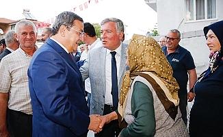 Soyer'den sonra Konak Belediye Başkanı Batur da Denizli'de