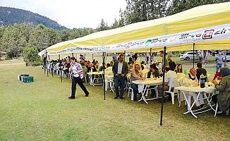 Çameli'de öğretmenler piknikte buluştu