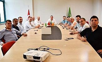 Kızılcabölükspor Yönetiminden Horoz'a ziyaret