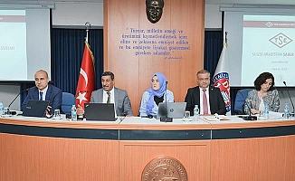 TSE'den DTO'da Saleem ve Saber semineri