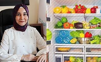 Yaz aylarında nasıl beslenmeli, besinleri nasıl muhafaza etmeliyiz?
