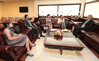 Dünya Doğayı Koruma Vakfı'ndan Başkan Zolan'a ziyaret