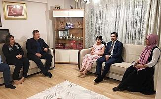 Milletvekili Özkan'dan 15 Temuz şehit ailesine ve gaziye ziyaret