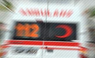 Fenalaşan yolcu Acil Servise otobüsle yetiştirildi