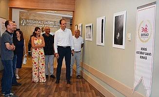 DEFSAD fotoğraf sergisi PAÜ Hastanesi'nde açıldı