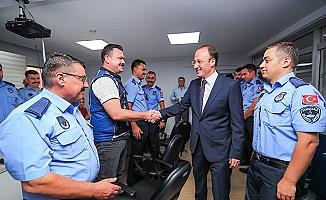 Başkan Örki Zabıta Haftası'nı personeliyle kutladı
