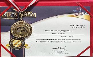 PAÜ, ISIF 2019'dan 3 madalya ile döndü