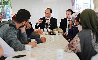 Başkan Örki Karşıyaka'da vatandaşlarla buluştu
