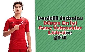 Denizlili futbolcu Dünya En İyi Genç Yetenekler listesine girdi