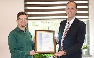PAÜ Hastanesi'nin ISO 9001:2015 belgesi yenilendi