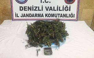 Serinhisar'da uyuşturucu operasyonu