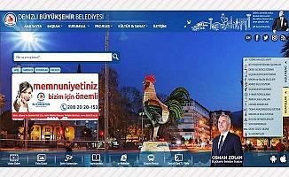www.denizli.bel.tr yeni yüzüyle hizmette