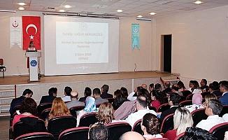 Yöneticiler toplantısında Kanser Taramalarına dikkat çekildi