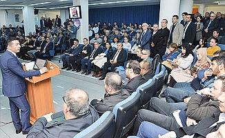 DTO'nun Elektronik Vergi Uygulamaları Toplantısı'na ilgi yoğun oldu