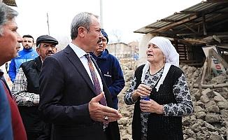 Milletvekili Şahin Tin'den Depremzedelere müjdeli haber