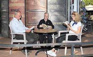 Pamukkale'de Kitap Kafe'ye ilgi büyük