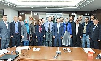 Uygulamalı İngilizce Dış Ticaret Eğitimi'nin sertifikaları dağıtıldı