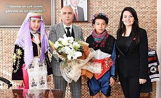 Vali Karahan Çal ve Bekilli'yi ziyaret etti