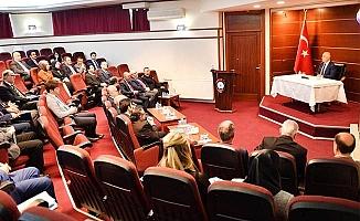 Aralık ayı Kaymakamlar toplantısı yapıldı