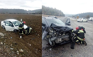 Buldan'da kaza: 3 yaralı