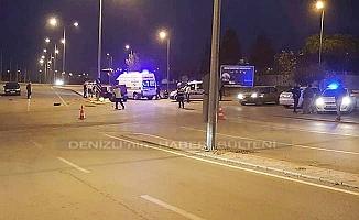 Denizli'de trafik kazası: 1 ölü 2 yaralı