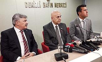 İYİ Parti Genel Başkan Yardımcıları Paçacı ve Ergun Denizli'de