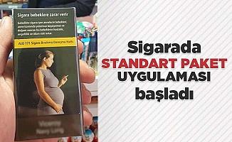 Sigarada standart paket uygulaması başladı