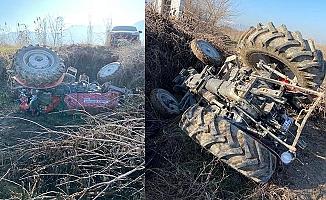 Başkan Çetin'in babası kaza geçirdi