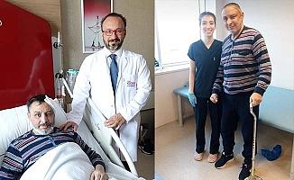 3 yıllık felçli hastaya mucize ameliyat