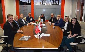 Başkan Örki, İsviçre'de Pamukkale'yi anlattı