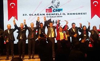 CHP Denizli'de Çavuşoğlu 4 oy farkla başkan seçildi