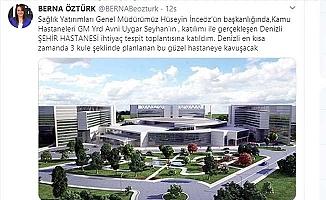 Denizli Şehir Hastanesi 3 kuleli olacak