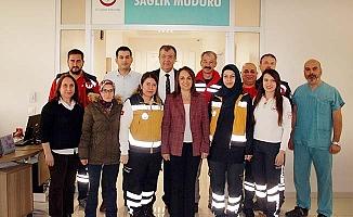 Denizli UMKE ve 112 ekipleri deprem bölgesinden döndü