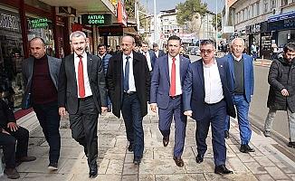 DTO Başkanı Erdoğan Çivril'i adım adım dolaştı