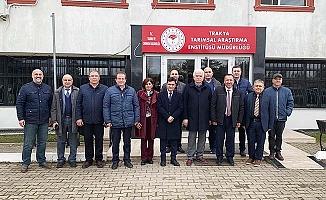 PAÜ'den Hibrit Ay Çekirdeği Geliştirme Projesi kapsamında Edirne ve Eskişehir'e ziyaret